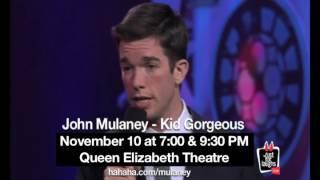 John Mulaney Live in Vancouver!