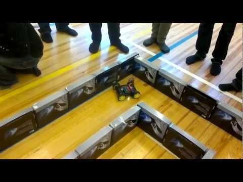 Curiosity MkII run 1 (MetroBots competition, Metropolia UAS)