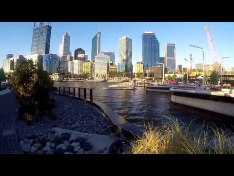 Perth City Travel November 2016/ Kings Park, Swan River, Elizabeth Quay Bridge, Barrack Square