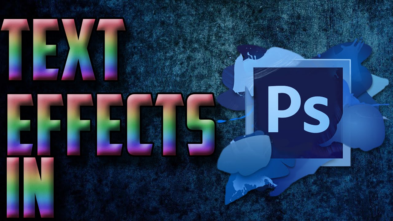 How to add effects to text in photoshop photoshop cs6 tutorial how to add effects to text in photoshop photoshop cs6 tutorial video baditri Choice Image