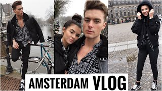 AMSTERDAM TRAVEL VLOG (1) !!   2019