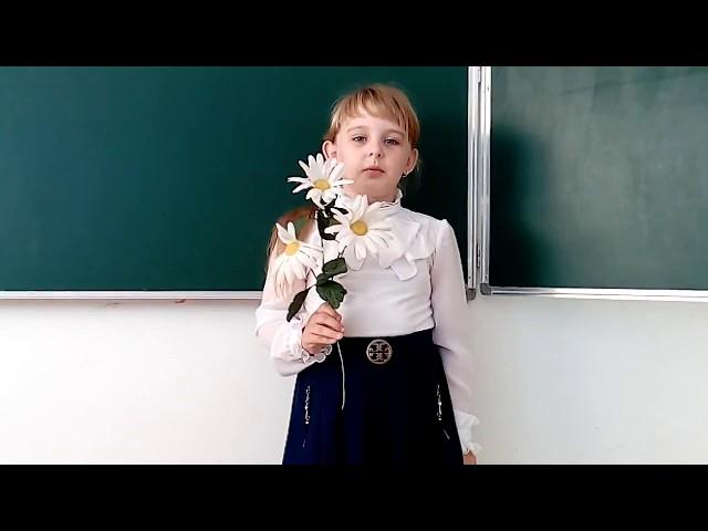Изображение предпросмотра прочтения – ЕлизаветаТануйлова читает произведение «Ромашка» (Александрова Зинаида)