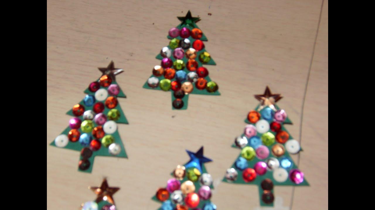 Diy c mo hacer un mini arbolito navide o de fieltro con - Manualidades con fieltro para navidad ...