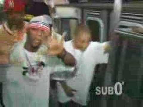 Papoose Publicity Stunt [NYC Train]