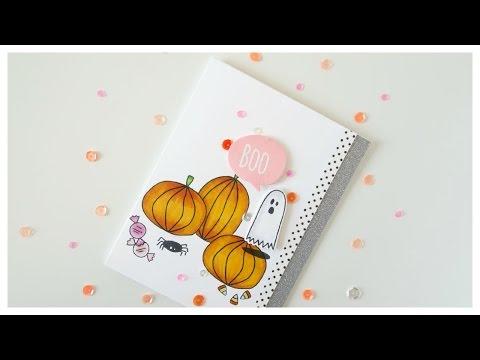 Saturday Stamp Day - Boo (Essentials By Ellen: Got Candy)