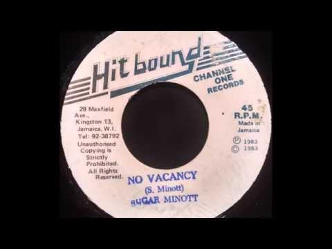 SUGAR MINOTT - No Vacancy Mixed  By  The Scientist