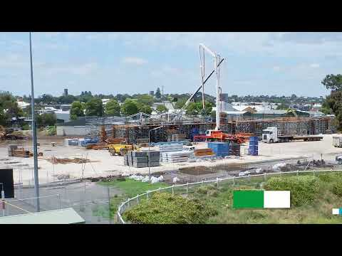 Wulanda Recreation and Convention Centre - Construction Time-lapse November 2020 to May 2021