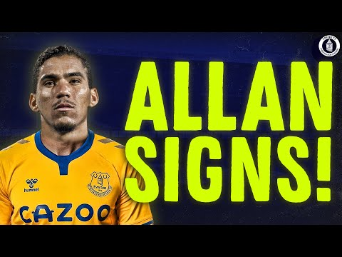 ALLAN SIGNS FOR EVERTON