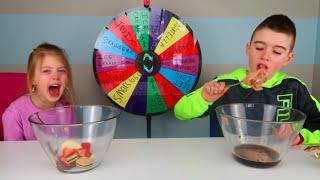 Mystery Wheel Ice Cream Challenge -  Ultimate Ice Cream Sundae Challenge