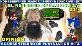 ¡¡¡ATENCIÓN LLEGAN LOS EMULADORES PARA PLAYSTATION VITA!!! Opinión - Ps Vita - Homebrew 3.60 - 2016