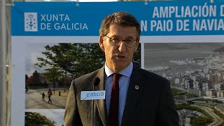 """Feijóo asegura que la Xunta """"es la administración que más invierte en Vigo"""""""