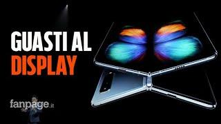 Samsung Galaxy Fold: il display dello smartphone pieghevole si rompe dopo poche ore di utilizzo