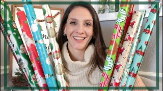 DOLLAR TREE HAUL | $1.00 CHRISTMAS WRAPPING PAPER | 2019