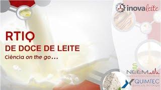 RTIQ de doce de leite - Ciência on the go...