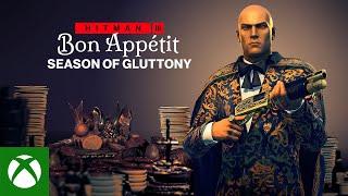HITMAN 3 - Season of Gluttony (Roadmap Trailer)