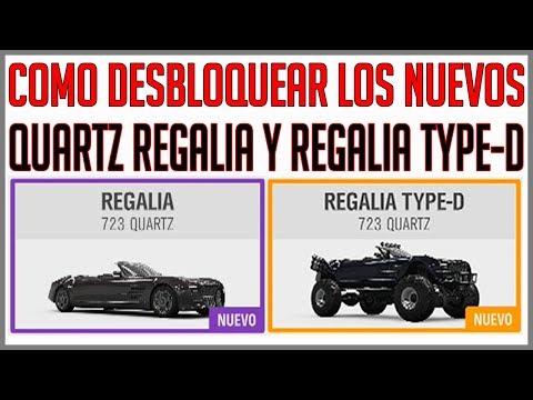 COMO DESBLOQUEAR QUARTZ REGALIA Y REGALIA TYPE-D | FORZA HORIZON 4 thumbnail