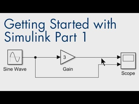 Getting Started with Simulink, Part 1: How to Build and Simulate a Simple  Simulink Model