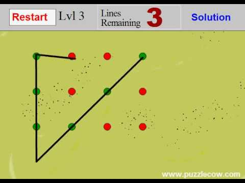 Connect The Dots Game Walkthrough Level 1 To 5 Youtube - Connected-dots-games