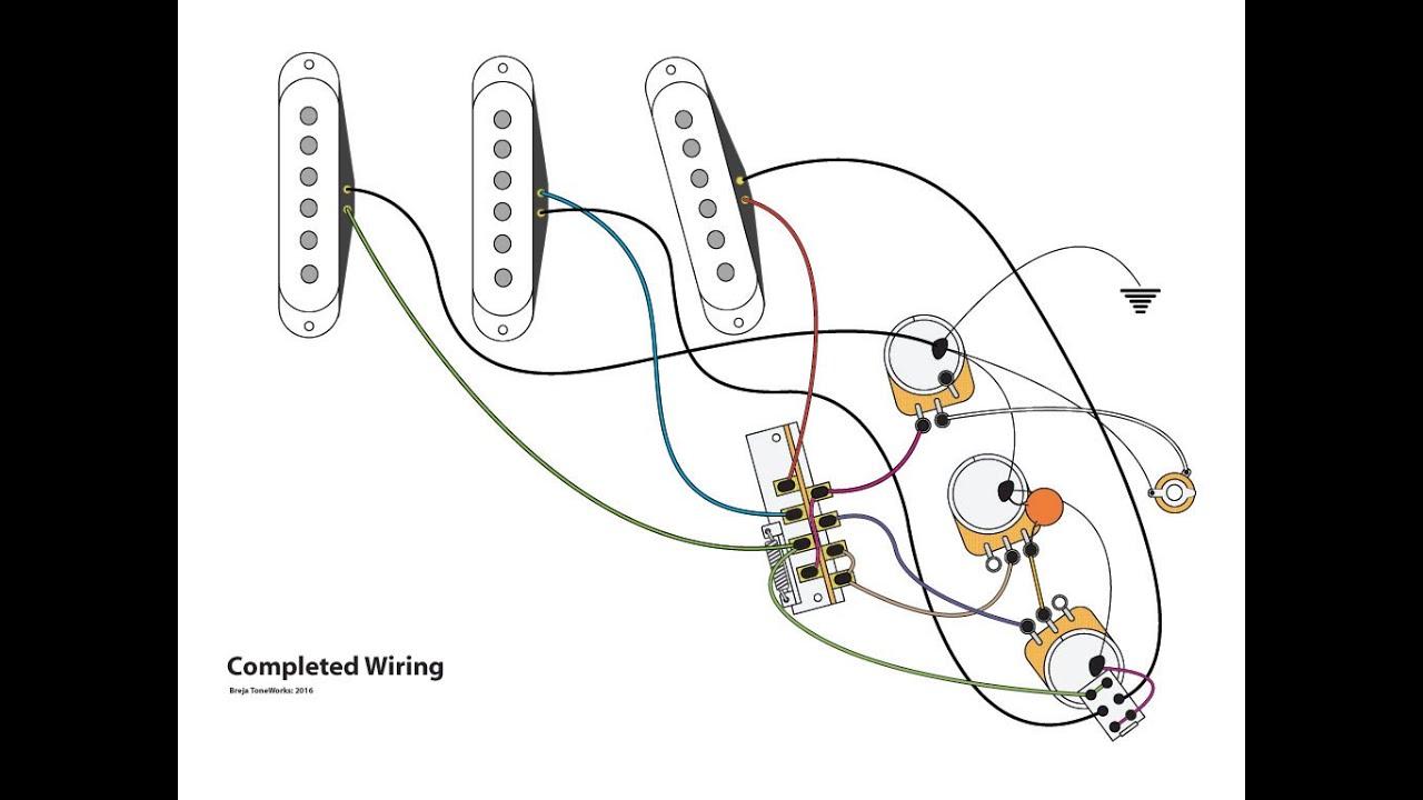 medium resolution of series parallel stratocaster wiring mod