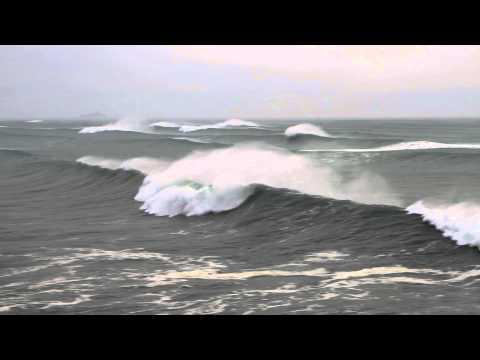 Mt Maunganui surf Cyclone Pam