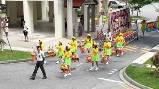潮州大锣鼓 Super Grand funeral at Yishun Avenue 4 (Jiu Long Tan Lim Clan & Nan Ta Ji Heng Tan)