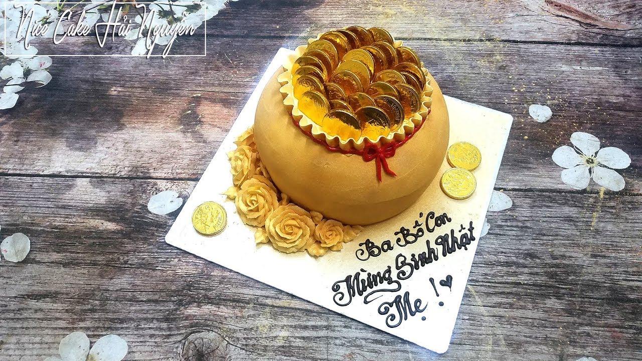 Bánh Sinh Nhật Tạo Hình Hũ Vàng – How To Make a Pot of Gold Cake