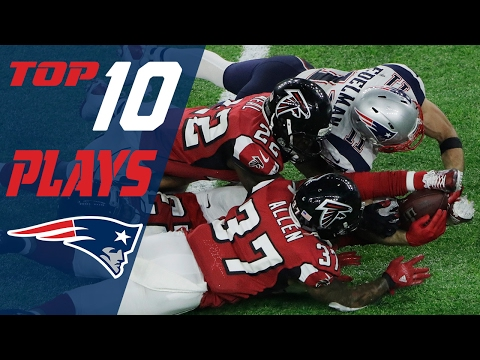 Patriots Top 10 Plays of the 2016 Season   NFL Highlights