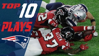 Patriots Top 10 Plays of the 2016 Season | NFL Highlights