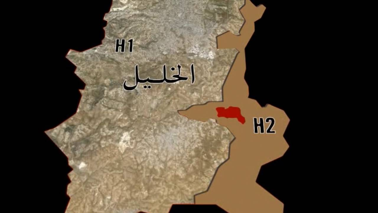 Hebron Map YouTube