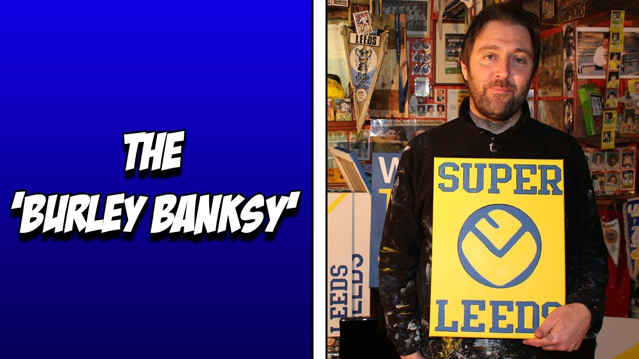 The 'Burley Banksy' - Meet the Leeds United fan making the city beautiful