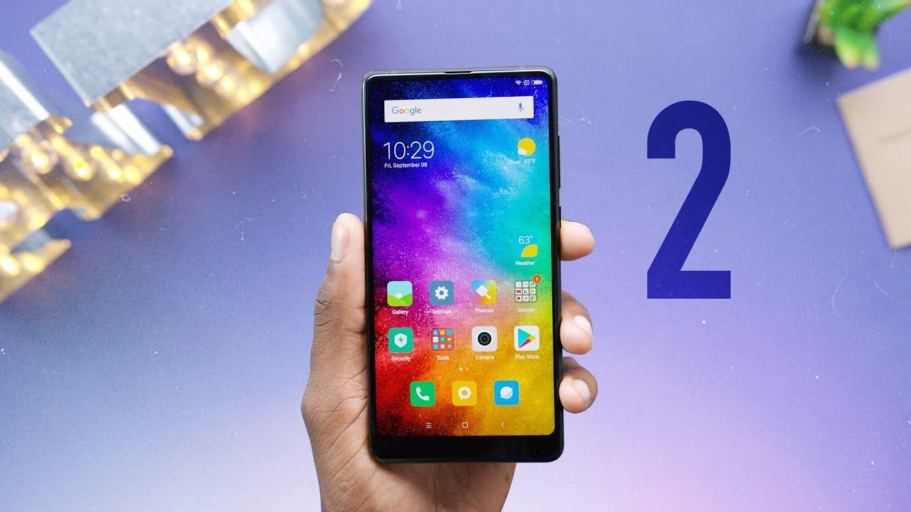 Xiaomi Mi Mix 2: The Bezel-less Sequel!