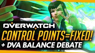 Overwatch   2CP MAPS FIXED! - D.Va Outrage Continues
