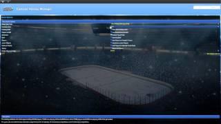Eastside Hockey Manager - Setting up your game - Euro