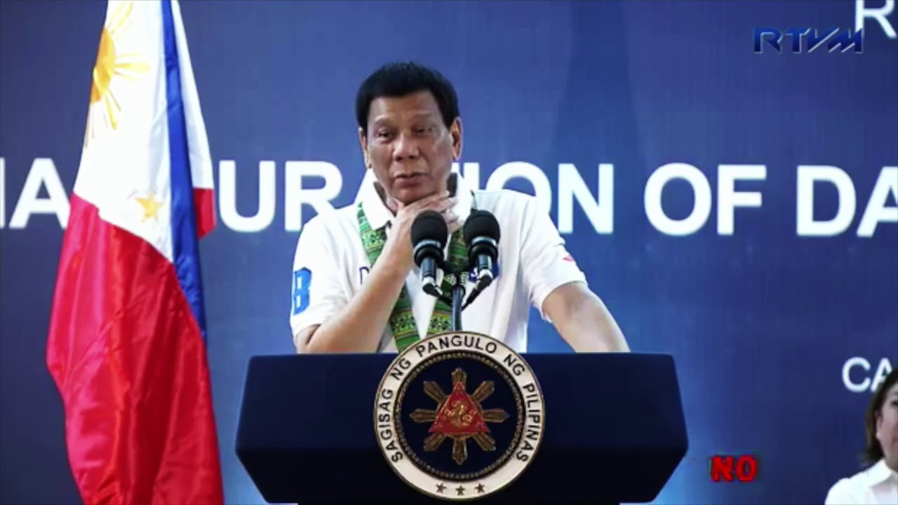 Duterte: Women cannot stand threats, intimidation