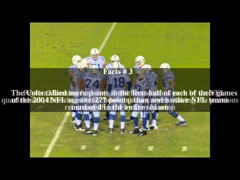 2004 Indianapolis Colts season Top # 5 Facts