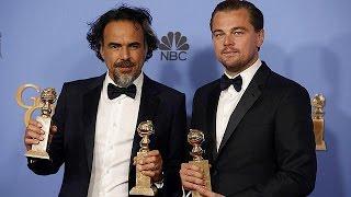 """Премию """"Золотой глобус"""" получили фильмы """"Выживыший"""" и """"Марсианин"""""""