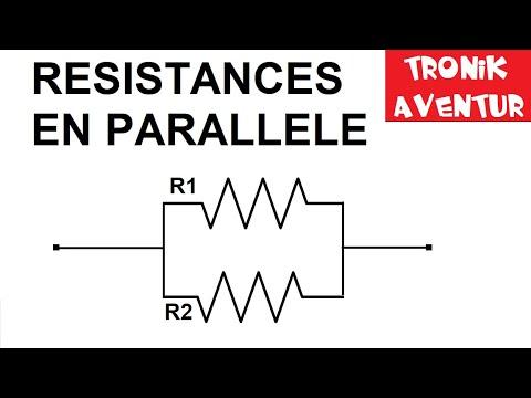 tronik aventur n 2 resistances en parallele electronique pour rh youtube com