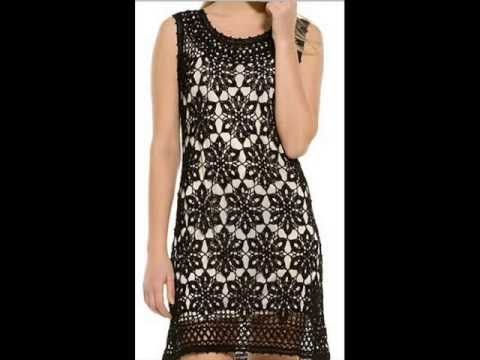 How To Crochet Dress Pattern Free YouTube Interesting Crochet Dress Patterns
