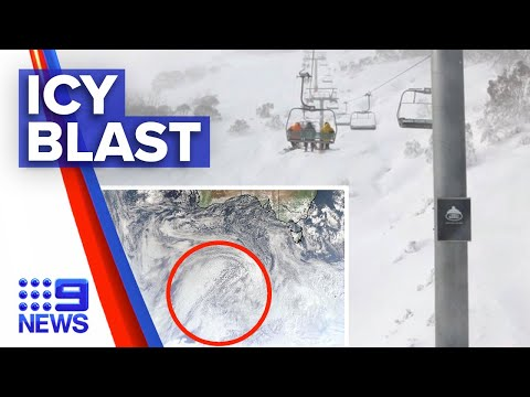 Snow and wild weather warning in NSW | 9 News Australia