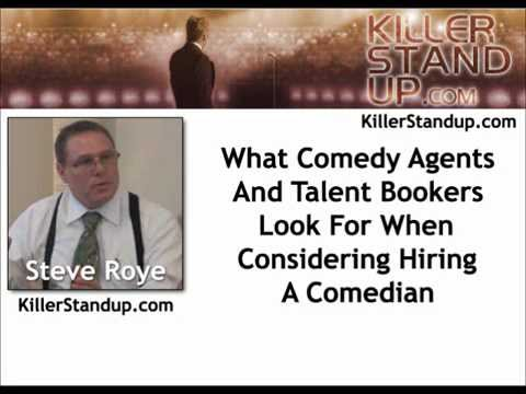 What Comedy Agents And Talent Bookers Look For In Comedians