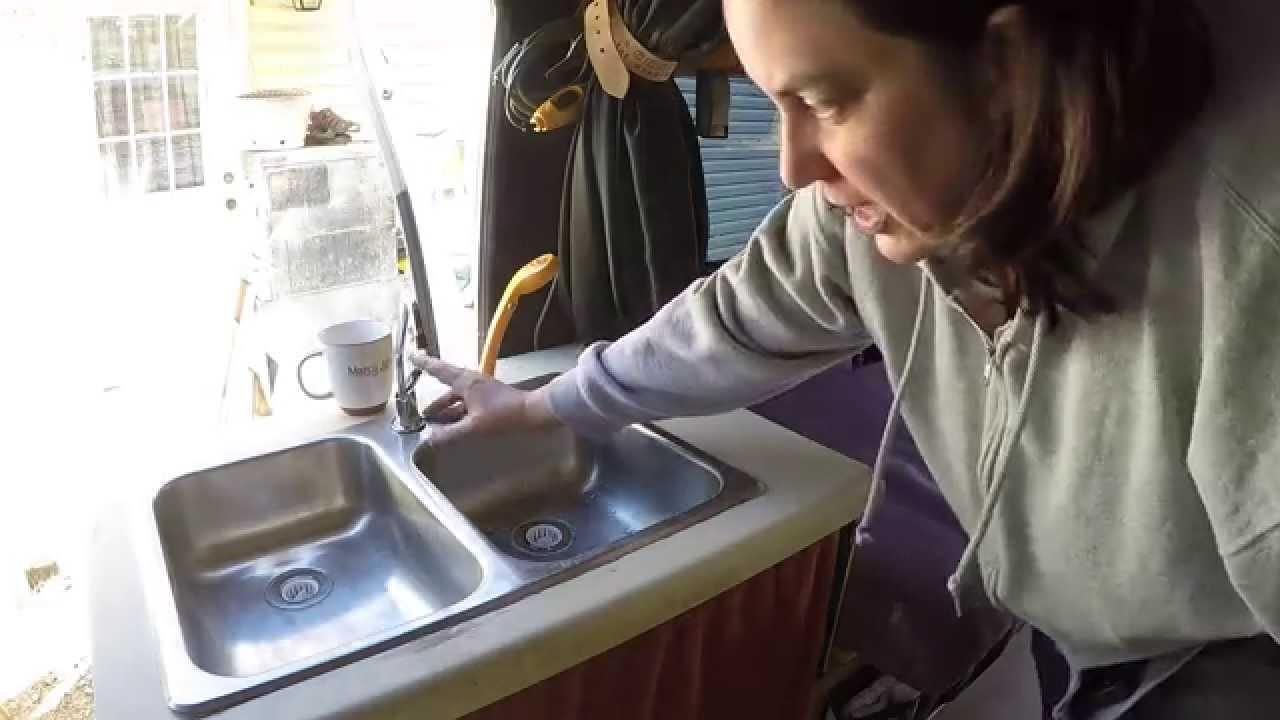 My Homemade Campervan Tour Part 2 Camper Van Sink And
