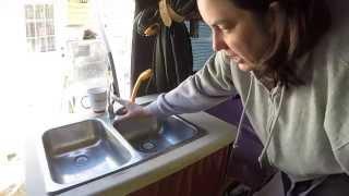 My Homemade Campervan Tour Part 2 Camper Van Sink And Shower Set-up