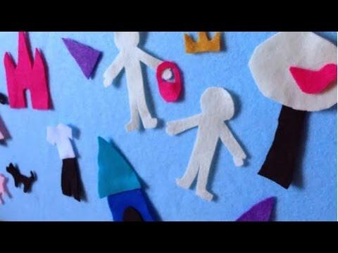 Make A Fun Kids Felt Board - DIY Home - Guidecentral
