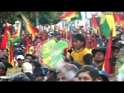 Bolivia approves new draft constitution