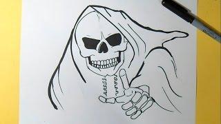 как рисовать череп Граффити(Рисование череп 2 музыка (Audiomicro.com), 2014-10-05T00:49:43.000Z)