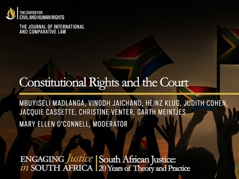Constitutional Rights and the Court