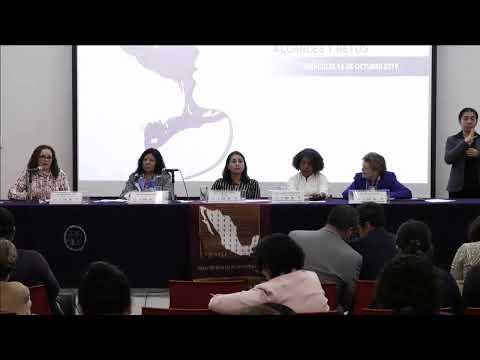 Mesa 1 Foro: Las alertas de violencia de género