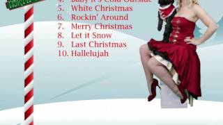 Miss Cindy Hoten - Santa Baby          Cumbria Female Singer
