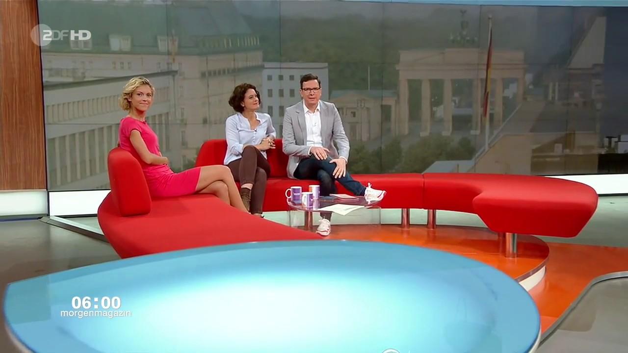 Sexy Annika Zimmermann Im Zdf-Morgenmagazin - Youtube-5399