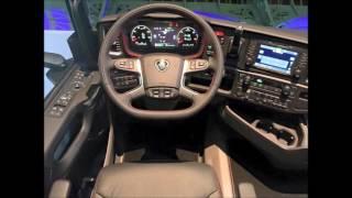 Scania 2017 S-series interior & exterior design (New Scania 2017)